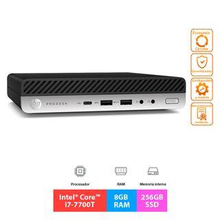 HP ProDesk 600 G3 Mini - i7 - 8GB - 256GB [NUEVO]