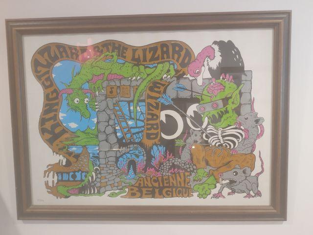 King Gizzard & the Lizard Wizard Poster 2019 Tour
