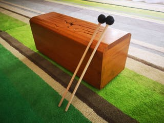 Tongue Drum, tambor de lengüetas, instrumento