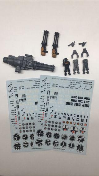 arma xv104 riptide battlesuit 3 artilleros tau cal