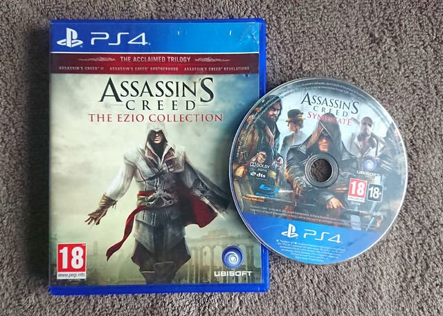 PS4 Assassin's Creed Ezio Collection Syndicate