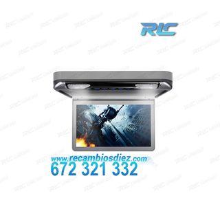 """PANTALLA TECHO HD 1080P XTRONS 13,3"""" LUZ DVD HDMI"""