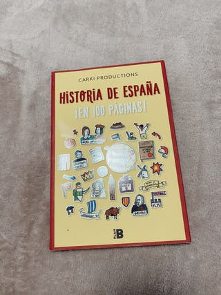 Historia de España en 100 páginas - Libro