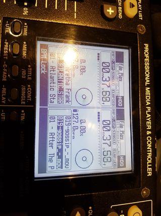 Denon DN HD 2500 professinal media player