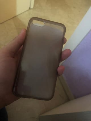 Vendo funda morada BQ Aquarius X5.