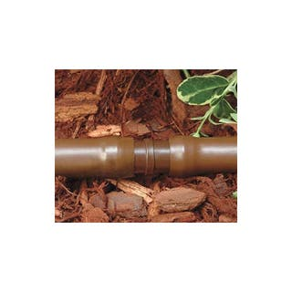 Tuberia Polietileno 16mm 100 mts marrón sin gotero