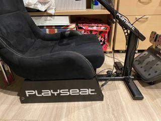 PlaySeat Antracita + Logitech G920