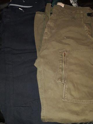 Pantalones.
