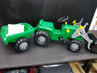 Tractor a pedales Tractor Rollykiddy Green Nuevo!!