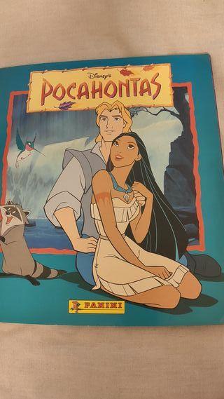 Album cromos Pocahontas