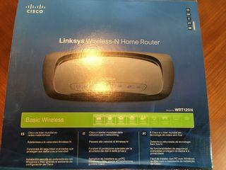 Router wireless cisco linksys WRT120