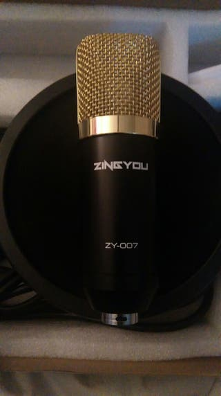 ZINGYOU ZY-007 GAMING STREAMING MICROPHONE / MUSIC