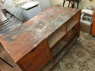Mueble de taller/mostrador