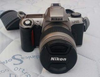Cámara Nikon y objetivos