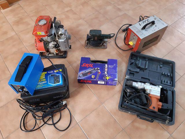 Lote de máquinas herramientas
