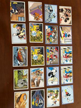 Cromos Mickey Mouse Disney Sticker Story