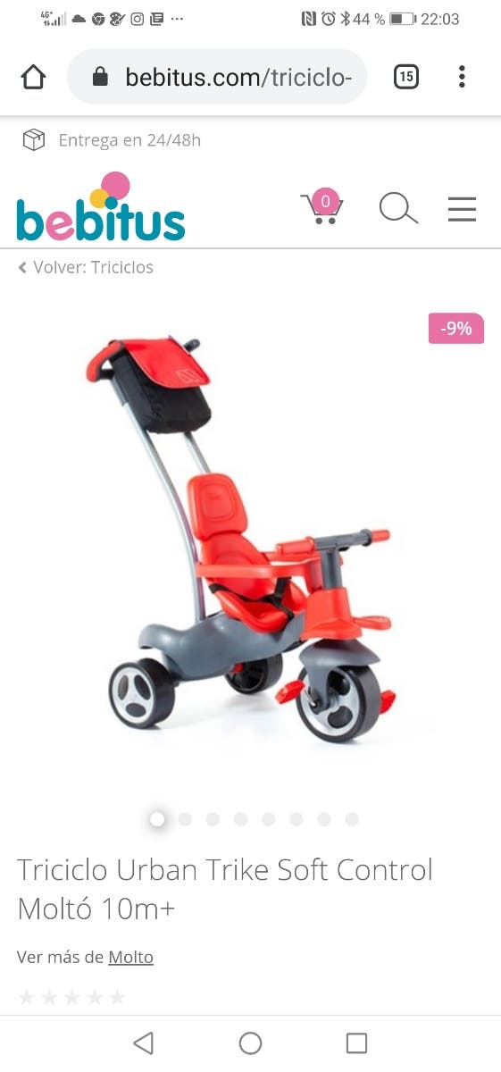 triciclo en perfectas condiciones