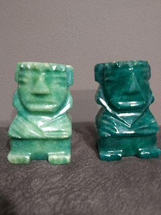 figuras verde jade