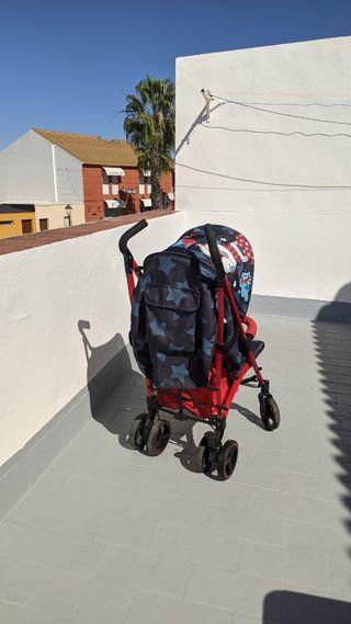 Carro de paseo tuc tuc para niño o niña