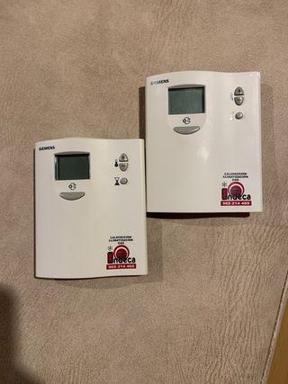 2 Termostatos RDD10.1 SIEMENS