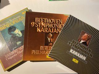 Vinilos Integrales sinfonías Beethoven - Karajan