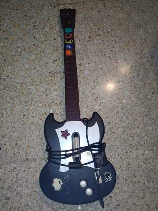 guitarra para ps2 del guitar hero