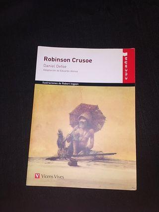 Libro lectura: Robinson Crusoe