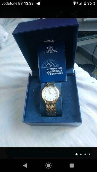 reloj de mujer de oro