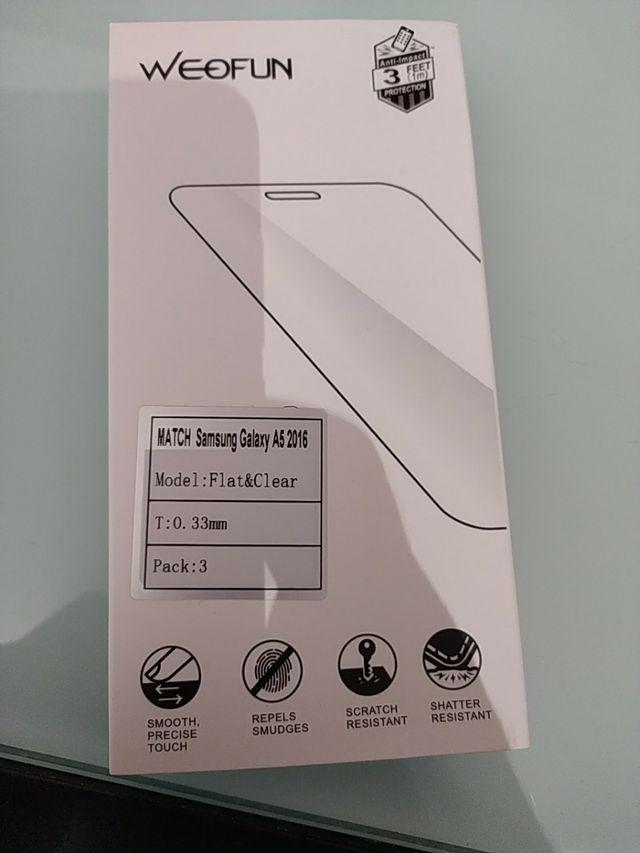 cristal protección Samsung A5