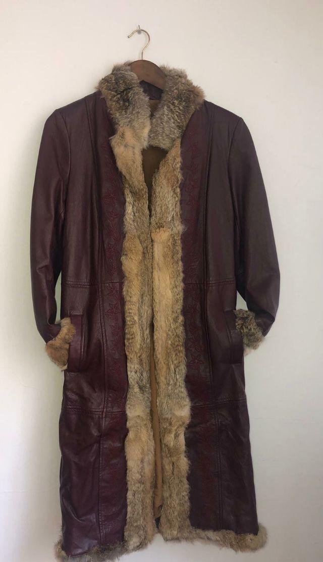 chaqueta de cuero ##lotemuyecomico## hasta el 50%
