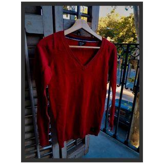 Polo rojo marca Ralph Lauren talla S (36)