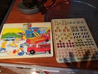 puzzles madera impecable