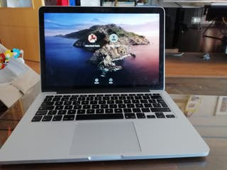 MacBook Pro retina 13 pulgadas 256gb