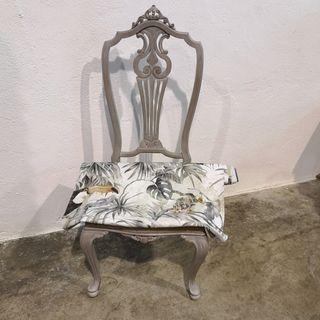 conjunto de seis sillas restauradas