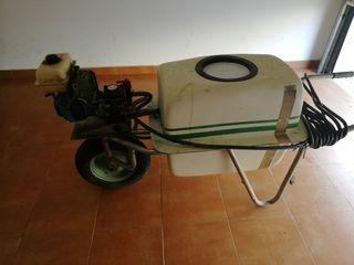carretilla fumigadora 100 litros