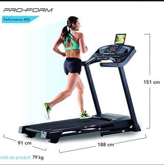 Cinta de correr Proform 400i