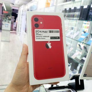 IPHONE 11 128GB RED - NUEVO