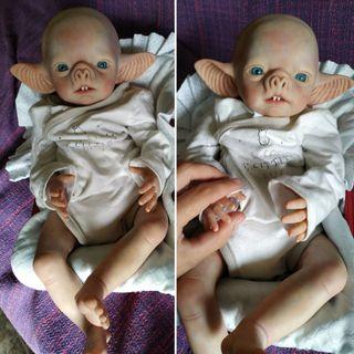 bebé reborn alternativo, vampiro