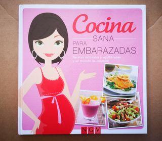 Libro Cocina sana para embarazadas