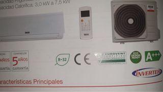 Aire acondicionado + instalación