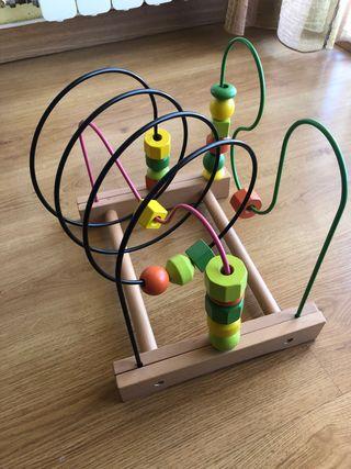 Juguete-Laberinto de madera