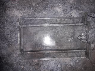 teja plana de cristal