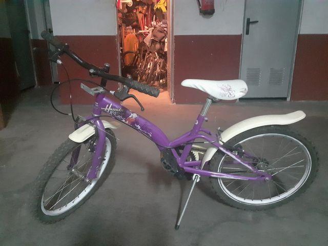 bici esta perfecta pra neña