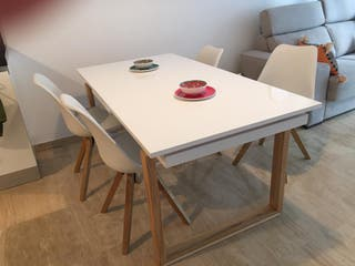 Oportunidad mesa silla de diseño