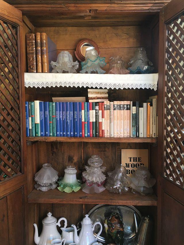 Mueble alacena rústica de madera