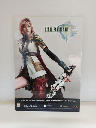 Poster de cartón Final Fantasy XIII