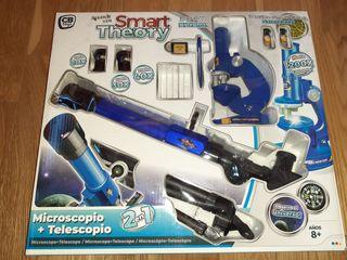 A estrenar! Telescopio y microscopio