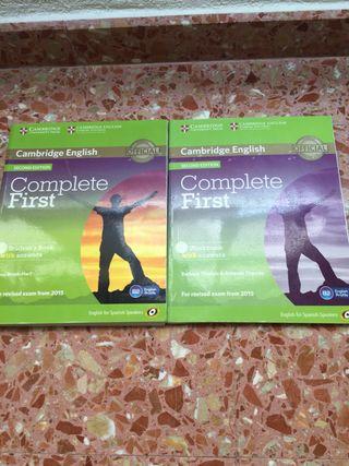 Libros para preparar examen B2 inglés Cambridge