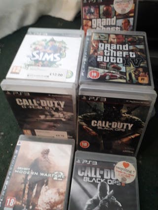 ps3 with 27 games