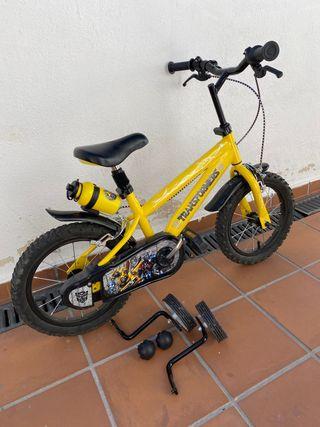 Bicicleta de transformer 14 pulgadas